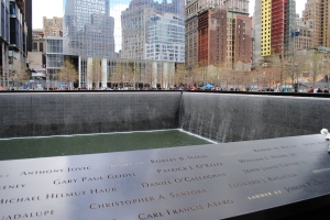 World Trade Center Memorial - South Pool, New York City