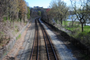 Adirondack railway tracks, New York City