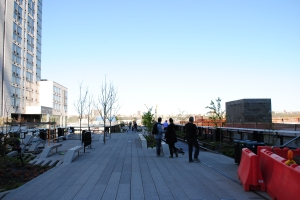 The High Line around Penn Station, New York City