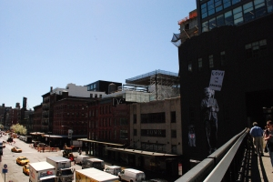 The High Line in the Meatpacking District, New York City