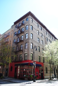 Friends house, Bedford st / Grove street, New York City