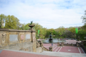 Bethesda Terrace & Fountain in Central Park