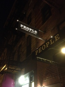 People Kitchen & Lounge, 163, Allen Street, New York City