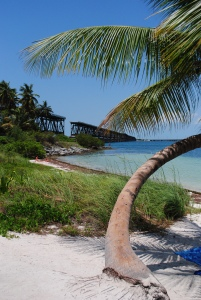 View of the old bridge, Bahia Honda Key