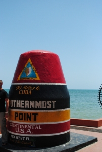 Southernmost point of contiguous United States, Key West