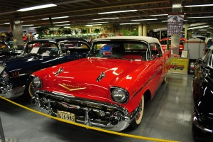 1957 Chevrolet Bel Air convertible, Automobile Museum, Tallahassee