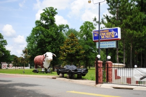 Entrance gate of the Automobile Museum, Tallahassee