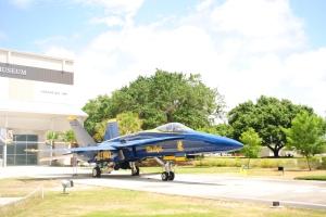 "McDonnell Douglas F/A-18 Hornet ""Blue Angels"", National Museum of Naval Aviation, Pensacola"