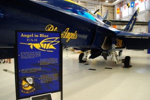 "McDonnell Douglas F/A-18 Hornet ""Blue Angels"", National Museum of Naval Aviation, Pensacola"