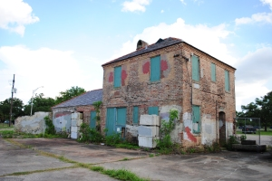 Abandonned house, City Park, New Orleans
