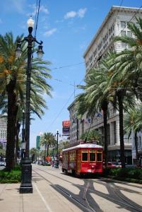 Street Car, Canal Street, New Orleans