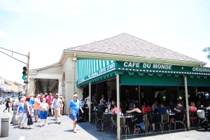 Café du Monde, 800 Decatur Street, New Orleans