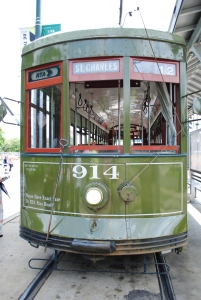 Green Line Streetcar, New Orleans