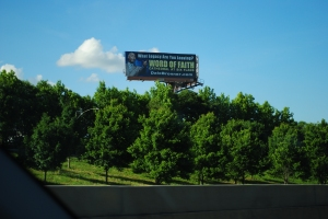 Banner ad, Interstate 85 North