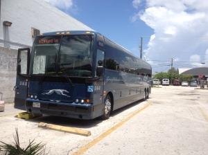 Greyhound bus, Miami
