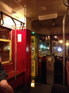 Red line streetcar, Canal Street, New Orleans