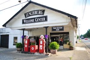 Old gas station, Lynchburg