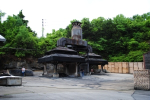 Charcoal production, Jack Daniel's, Lynchburg