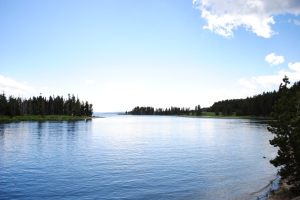 Lake Yellowstone, Yellowstone National Park, Wyoming