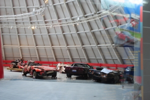 Crashed Corvettes, National Corvette Museum, Bowling Green