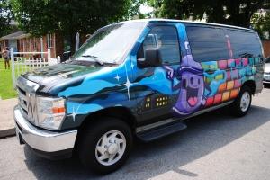 Ford E-250 Paintbrush van, Nashville