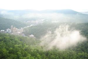 View of Hot Springs, Arkansas