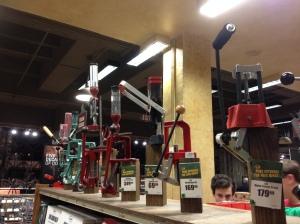Bullet building tools, Bass Pro Shops, Memphis