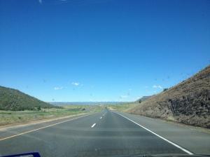 Somewhere between Amarillo, Texas and Colorado Springs, Colorado