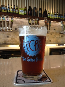 One of the many delicious beers of Fort Collins Brewery, Fort Collins