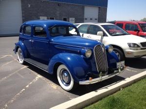 One of Lance's cars, Blue Collar Bobbers, Sandy, Utah