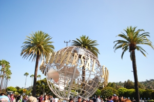 Universal Studios Hollywood entrance, California