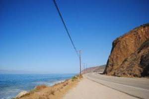 Pacific Coast, near Santa Monica, California