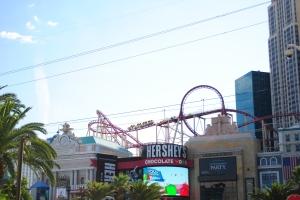 The Roller Coaster, New York-New York, Las Vegas, Nevada
