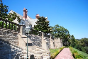 South side of Greystone Mansion, Beverly Hills, California