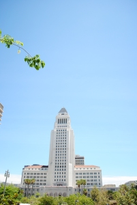 City Hall, Downtown, Los Angeles, California
