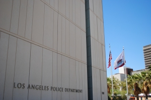 Los Angeles Police Department, Downtown, Los Angeles, California