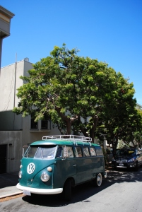 Volkswagen T1, San Francisco, California