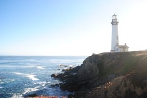 Pigeon Point Lighthouse, Pacific Coast, California