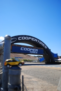Bridge between turns 3 & 4, Mazda Raceway Laguna Seca, California