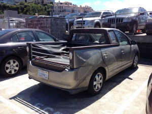 Toyota pick-up Prius, San Francisco, California