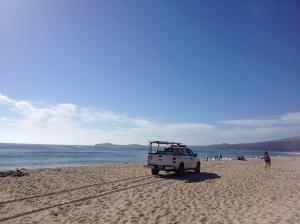 California State Parks Patrol, Pacific Ocean near San Francisco, California