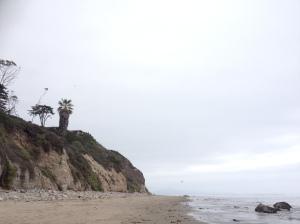 One of many beaches in Santa Barbara, California
