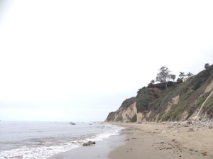 One of many beaches in Santa Barbara, California