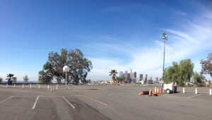 Dodger Stadium parking lot, 1000 Elysian Park Avenue, Los Angeles, California