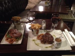 Good food at the Bridge Tavern, Wicklow